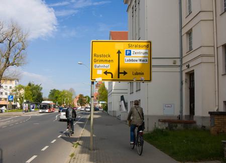 greifswald: Street signs