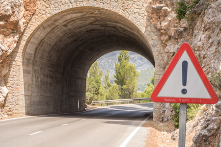 A Tunnel on Mallorca, Spain