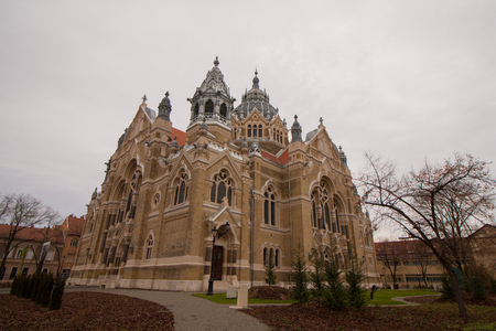 The Synagogue in Szeged, south Hungary