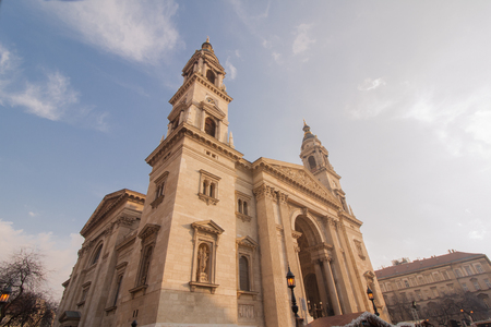 Historic church, St. Stephens Basilica in Budapest, Hungary (Europe)