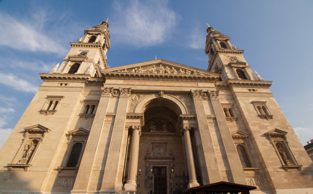 Historic church, St. Stephens Basilica in Budapest, Hungary (Europe)