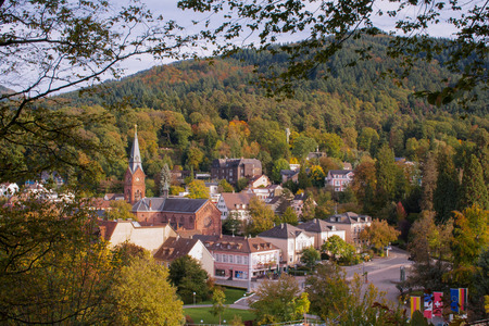 Badenweiler in the Black Forest Banco de Imagens