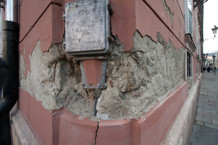 Rehabilitation backlog - urgent need for action - maintenance and repair of a residential building in Budapest