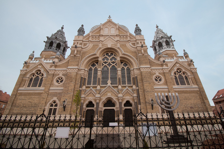 New Synagogue in the Hungarian city of Szeged