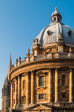 neo gothic: Radcliffe Camera, Oxford University, UK