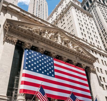 new york stock exchange: The New York Stock Exchange, New York City, USA