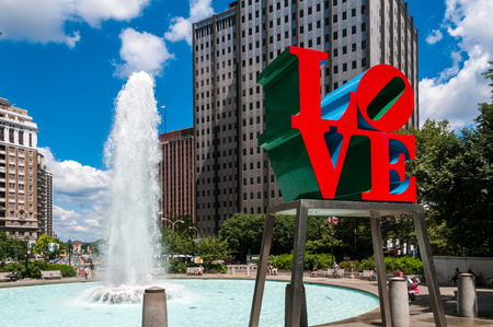 brotherly love: The Love Statue, Philadelphia, PA