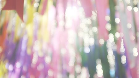 Abstract festive blurred party background with smooth blended colout. colorful background. Blank copy space 写真素材