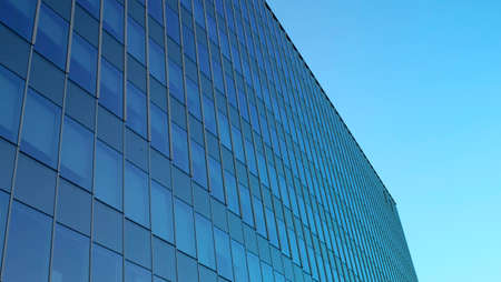 modern office building.building with copy space.windows office building for background