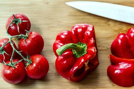 Red veggies Reklamní fotografie