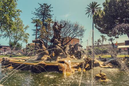 Fountain of Catania Reklamní fotografie