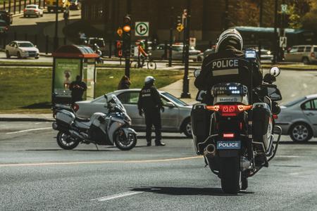 Police biker Redakční
