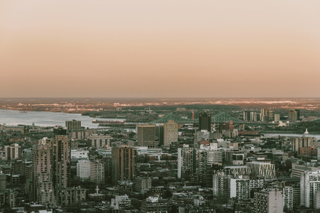 Montreal from the top