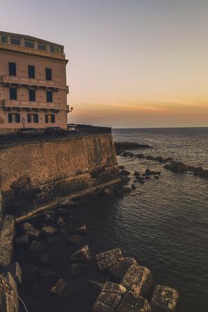 Island of Ortigia Reklamní fotografie