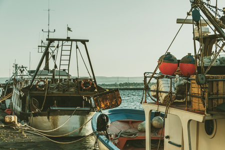 Italian boats Reklamní fotografie