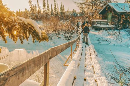 Winter adventure Reklamní fotografie