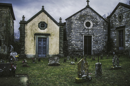 Cemetery in Europe