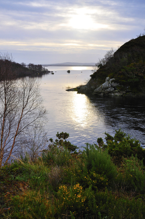 renowned: Pontoon,Co.Mayo, Ireland is a famed angling destination for fishermen from many corners of the globe. Located on the shores of Loughs Conn  Cullen, Pontoon is only 5 minutes from the world renowned River Moy.