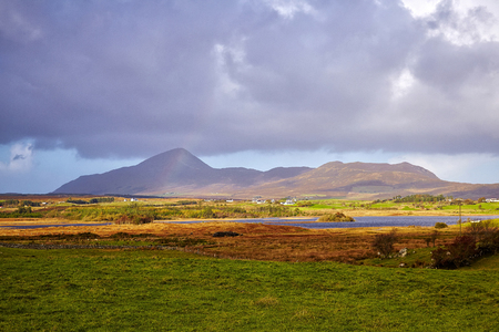 holiest: Croagh Patrick, which overlooks Clew Bay in County Mayo, is considered the holiest mountain in Ireland