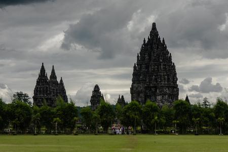 hinduist: Prambanan Temple, Yogyakarta, Indonesia