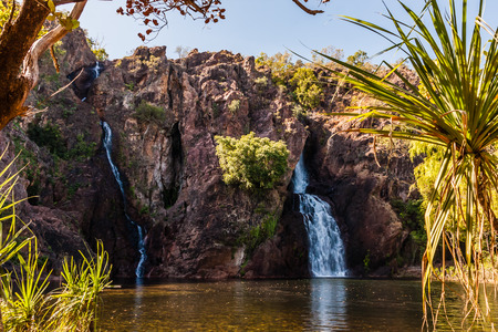 The Wangi Falls, Litchfield National Park, Northern Territory, Australia