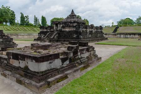 hinduist: Candi Sambisari, Yogyakarta, Central Java Stock Photo