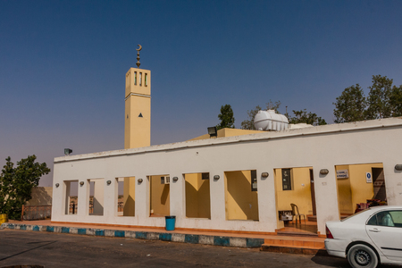 A roadside mosque near Riyadh, Saudi Arabia