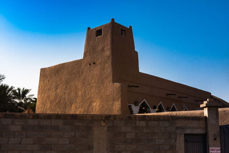 遺産モスク、広告 Diriyah、リヤド、サウジアラビア