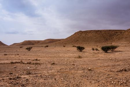 A desert landscape south-east of Riyadh, Saudi Arabia