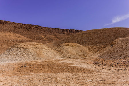 One of the fossils-rich sites east of Riyadh