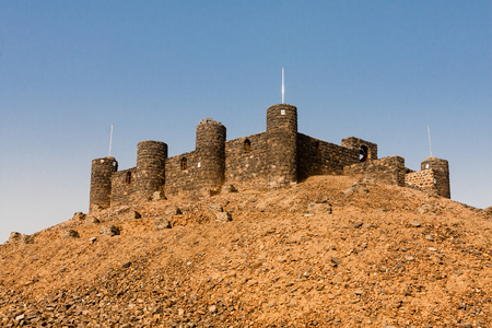 Asfan Fortress, one of the last Ottoman forts in Saudi Arabia