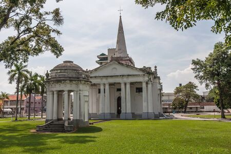 St. Georges Church is a 19th-century Anglican church in the city of George Town in Penang, Malaysia.