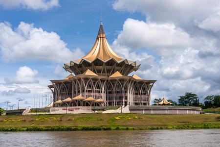 Nowy budynek Zgromadzenia Ustawodawczego stanu Sarawak