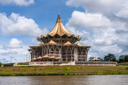 The New Sarawak State Legislative Assembly Building