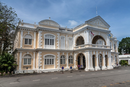 The Town Hall of George Town, Penang, Malaysia Editorial