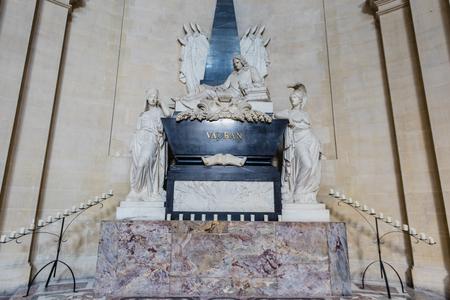 Vaubans mausoleum in Les Invalides, Paris Editorial