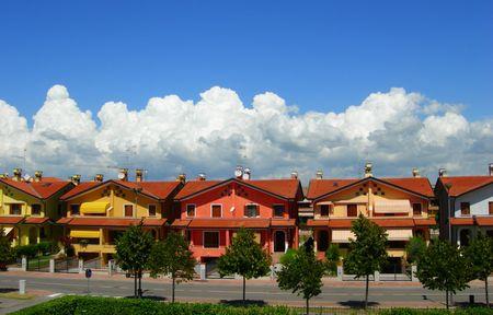 Italian single  houses Stock Photo - 2370115