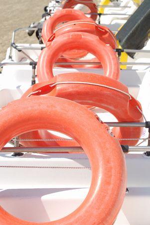 Life saver on boats Stock Photo - 4504609