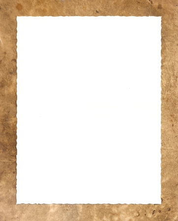 Original Antique Seventeenth Century Sheepskin PARCHMENT PAPER - White space with rough edges for your design or text.