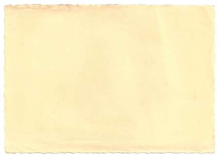 Original Antique PAPER texture isolated on White Background, Particular edges, with space for your design or text.