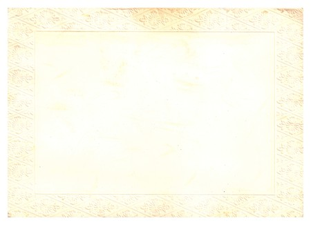 Original Antique PAPER Texture with Particular frame, space for your design or text.