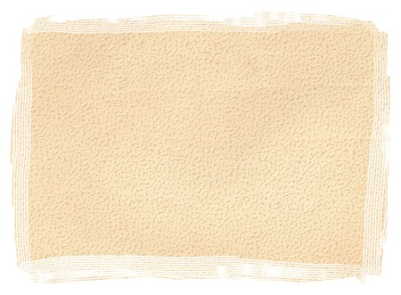 seventeenth: Original Antique PAPER texture isolated on White Background, Particular edges, with space for your design or text.