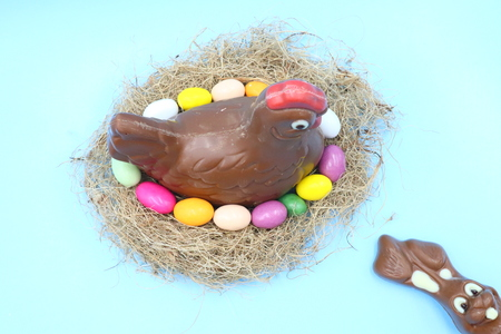 Easter Chocolate Composition