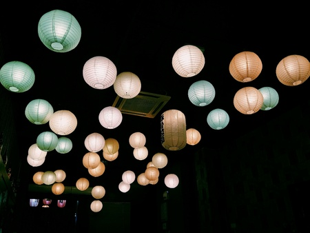hope: japanese Lanterns