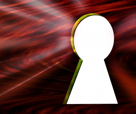 empty keyhole