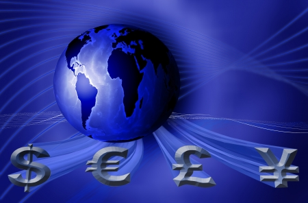 world business currency photo