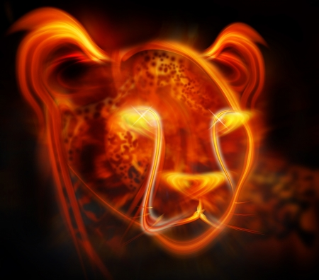 cheetah abstract