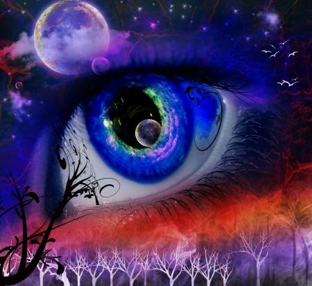eye moon fantasy