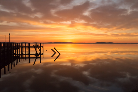 waterscapes: Reflections at the dock