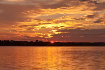 waterscapes: Golden sunrise